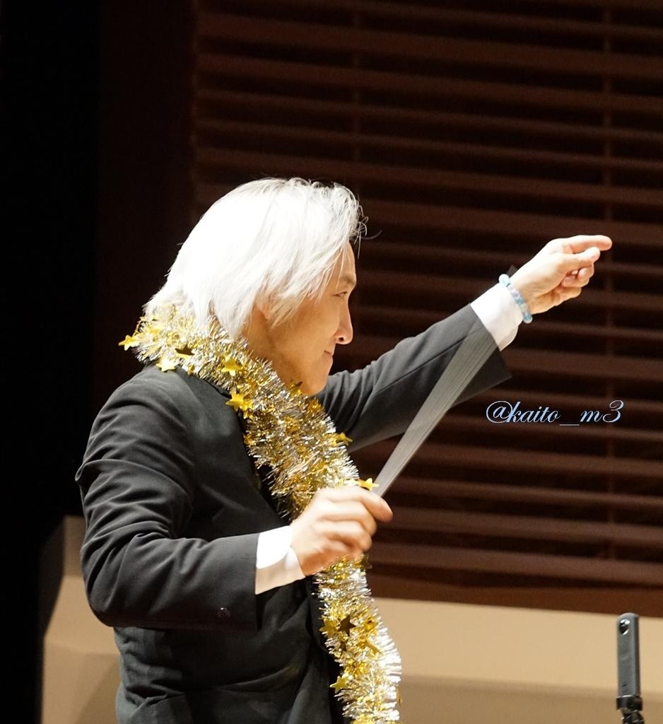 BBFF2018東京公演2回目で指揮をする栗田博文さん