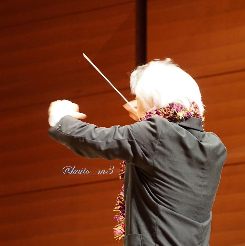 BBFF2018兵庫公演で指揮をする栗田博文さん