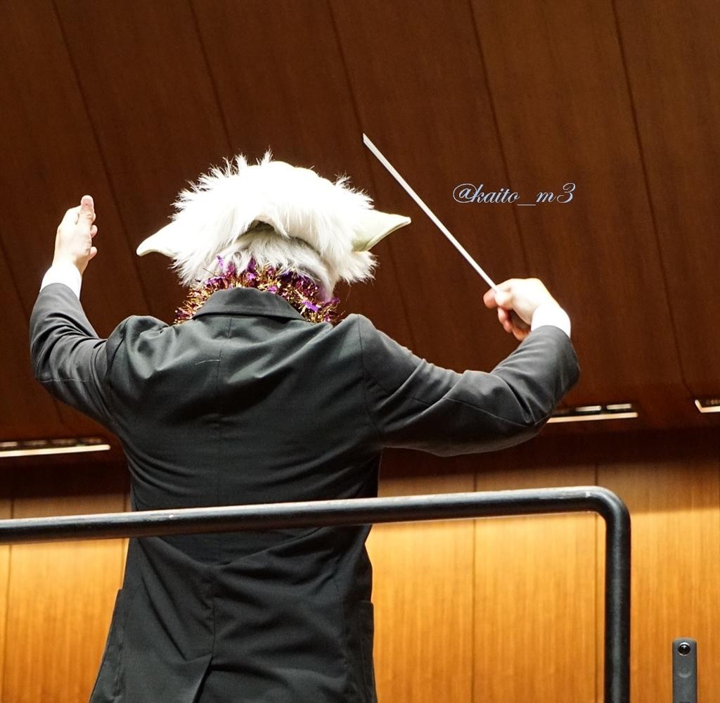 BBFF2018広島公演で指揮をする栗田博文さん