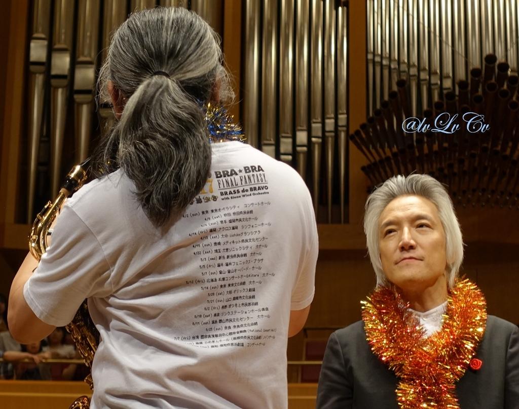 植松伸夫さん、栗田博文さん