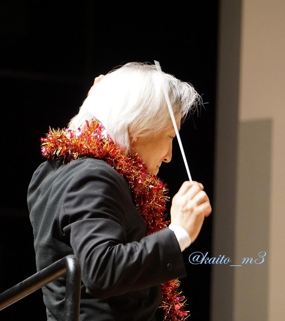 BBFF2018神奈川公演で指揮をする栗田博文さん