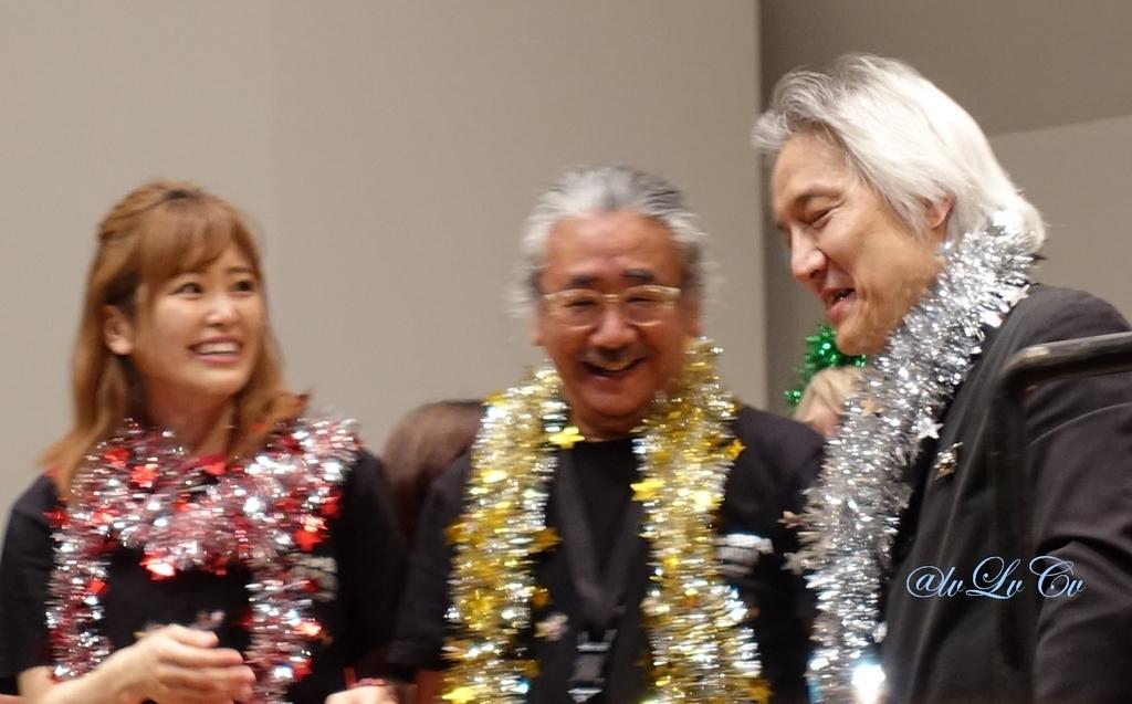 bra★braでの山下まみさん、植松伸夫さん、栗田博文さん