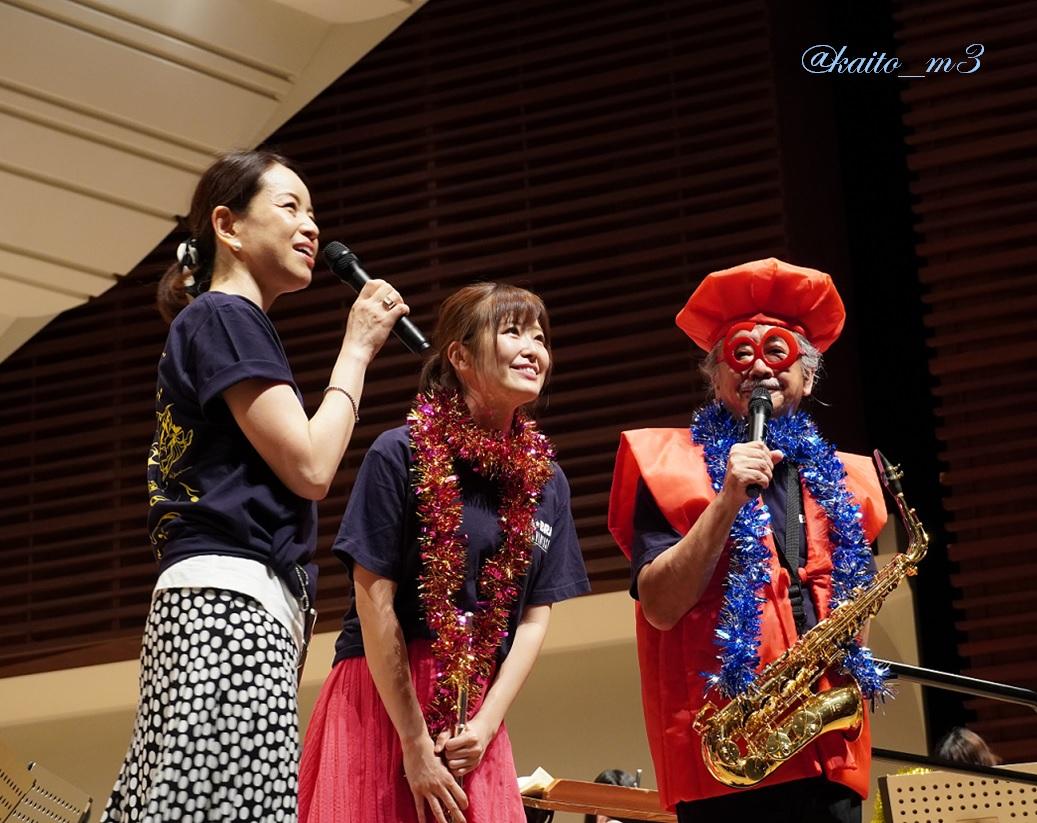 bra★braでの渋谷員子さん、山下まみさん、植松伸夫さん