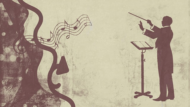 指揮者の画像