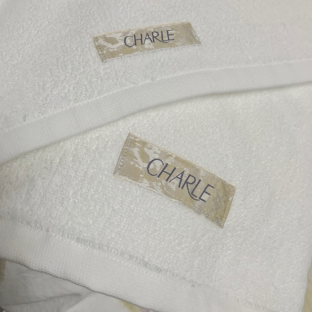 シャルレのタオル
