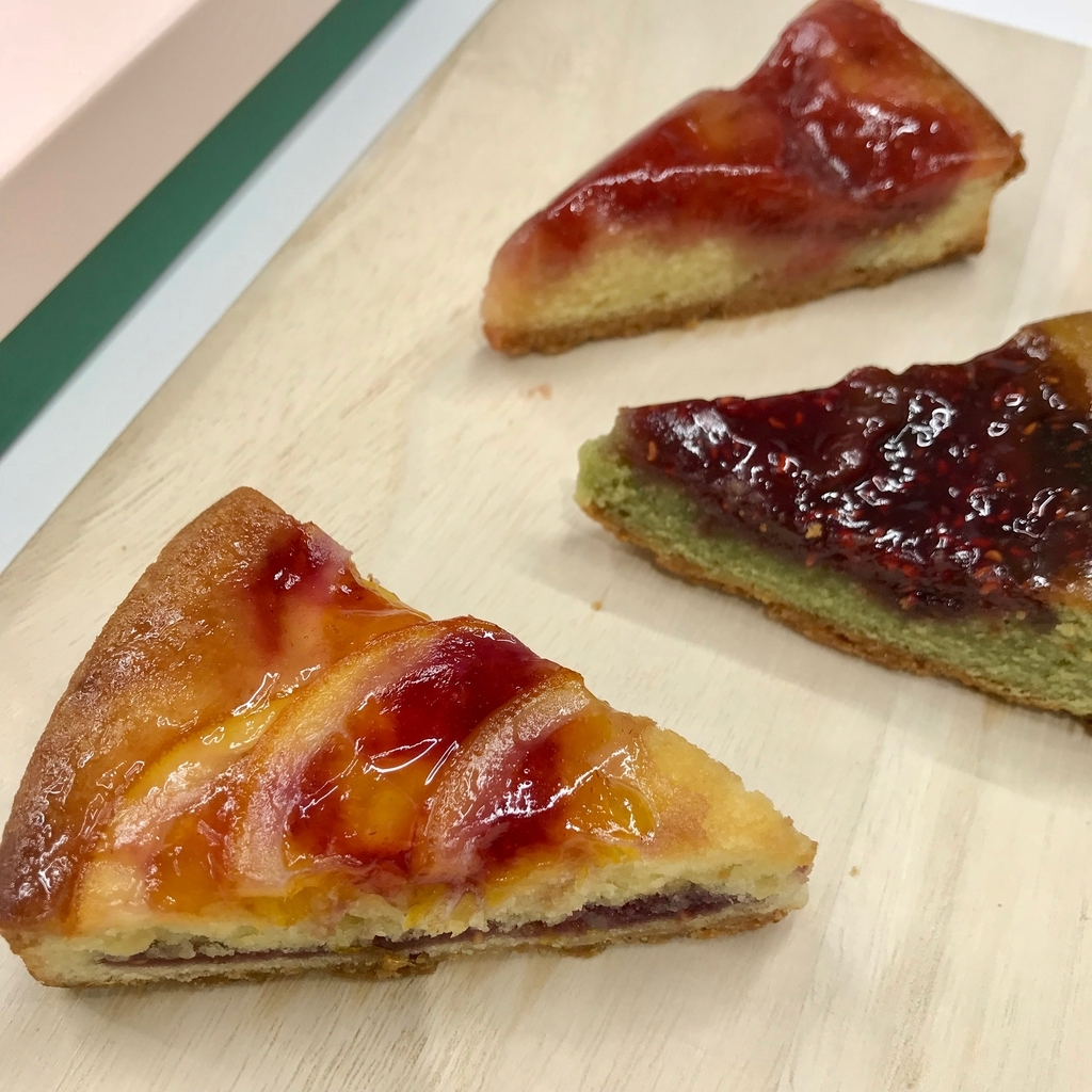 大丸松坂屋のお歳暮 苺とベリーの3種のタルト