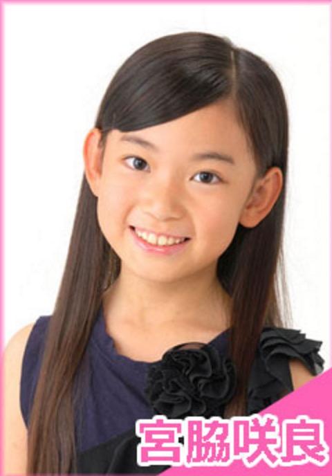 宮脇咲良の子役時代の写真
