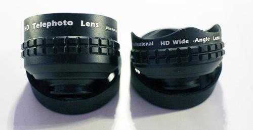 Aukeyのスマホ用レンズはキャップを外せば区別がつきやすいです
