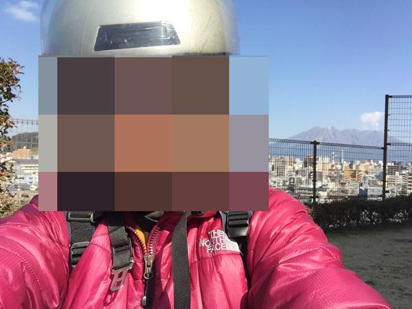 iPhoneによる自撮り画像