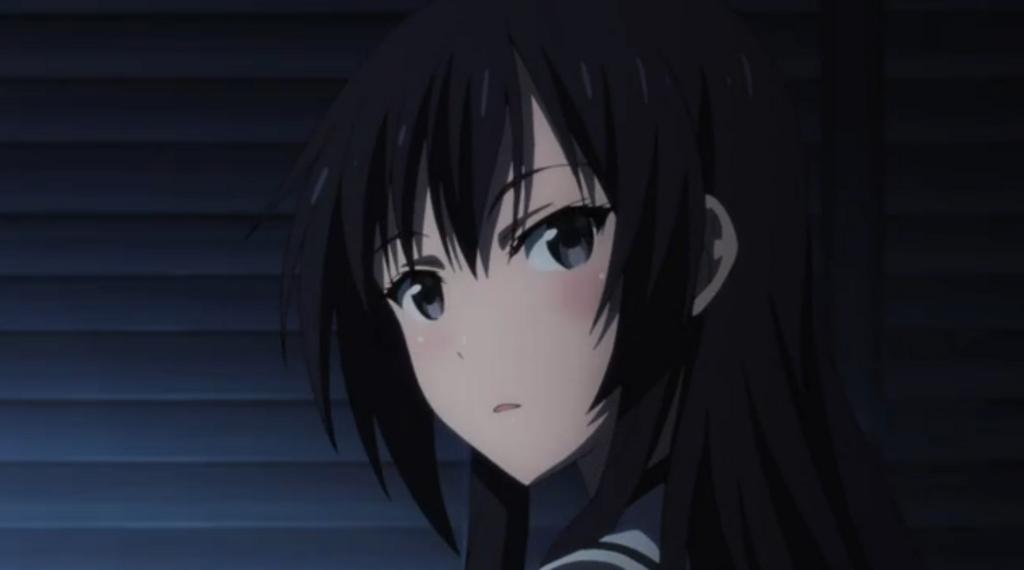 暗い部室で一人で作業してた黒田さんと暗がりで色々したい