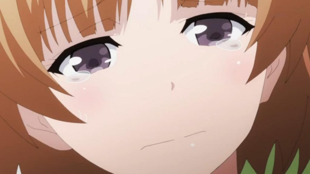 涙目のうぐいすちゃんはペロペロしたいくらい可愛いです