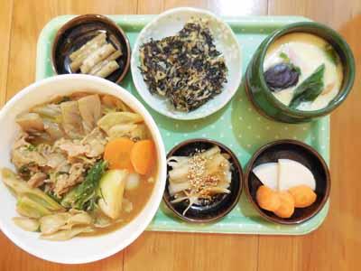 豚肉と野菜の北斗味噌鍋