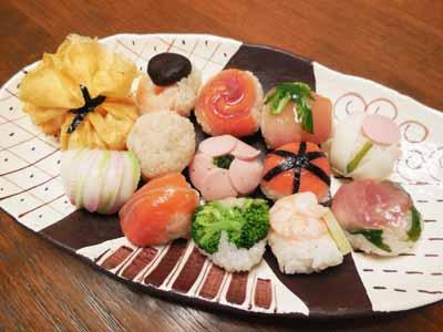 手毬寿司 桃の節句2021