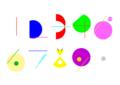 「日めくりカレンダーのための数字」2008年