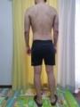 糖質制限ダイエット終了後体型変化写真14週目後