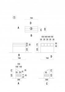 工場模型 ①平面図
