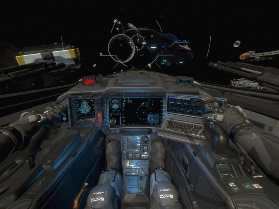 CoD IW Jackal AssauttVR自分下半身画像
