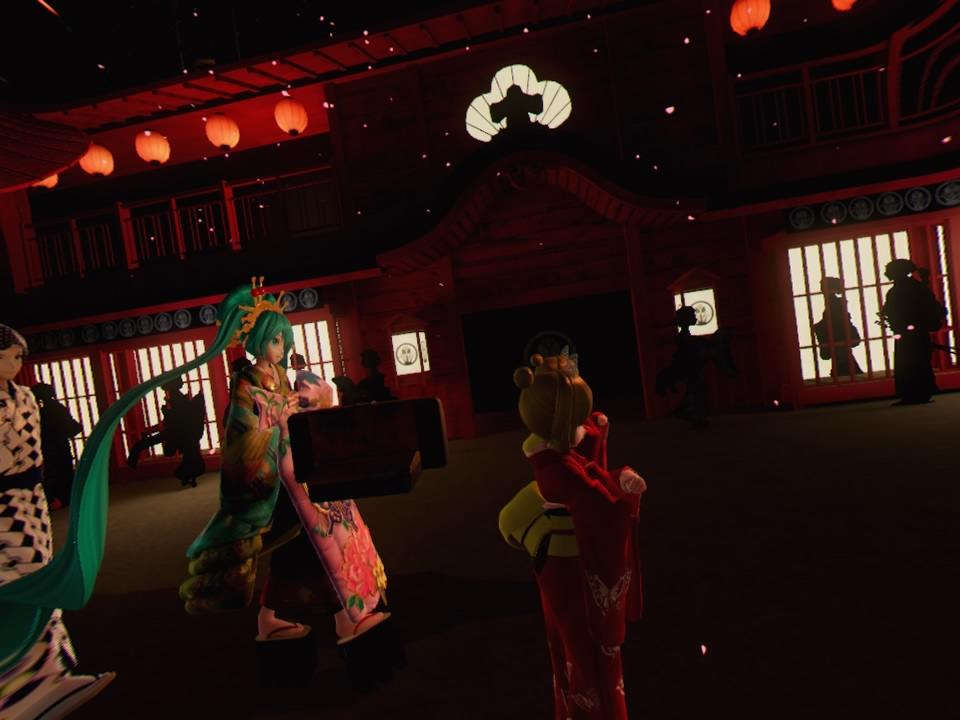 超歌舞伎VR~花街詞合鏡~第一場カメラ