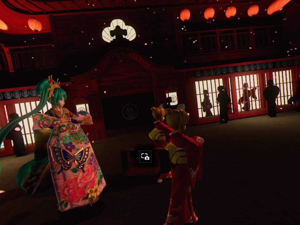 超歌舞伎VR~花街詞合鏡~第一場撮影