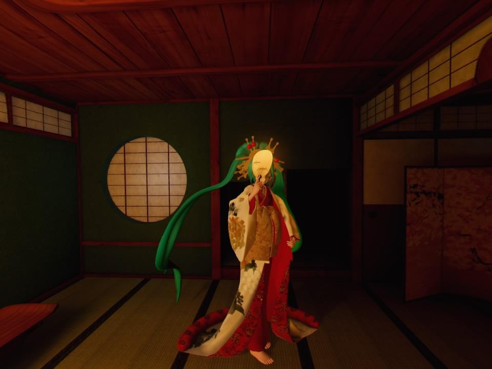 超歌舞伎VR~花街詞合鏡~第二場和室