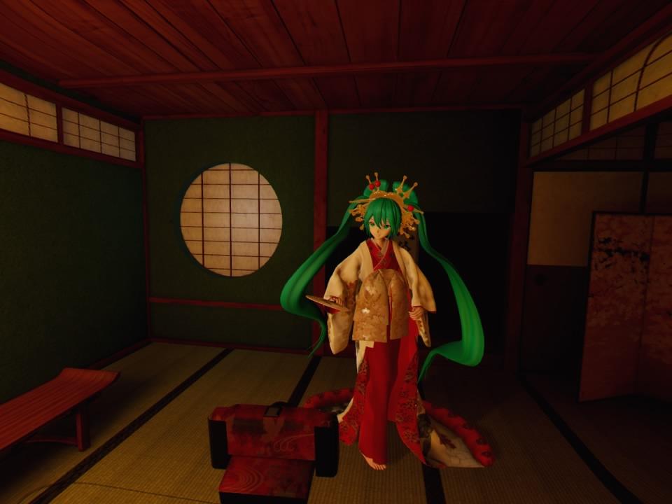 超歌舞伎VR~花街詞合鏡~第二場カメラ