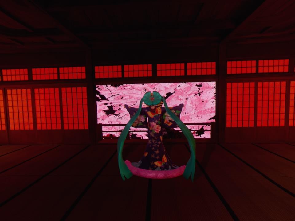 超歌舞伎VR~花街詞合鏡~第四場大広間