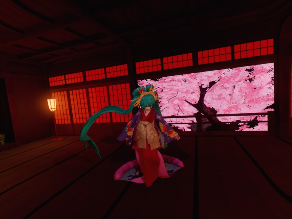 超歌舞伎VR~花街詞合鏡~第四場大広間2