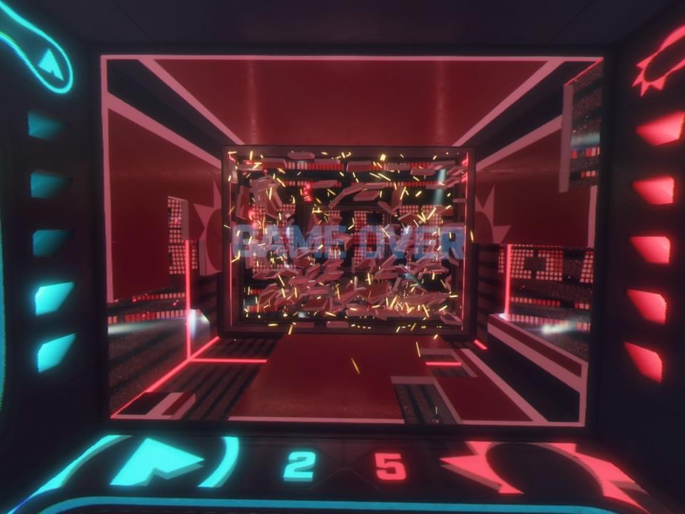 PlayStation VR WORLDSデンジャーボールプレイゲームオーバー