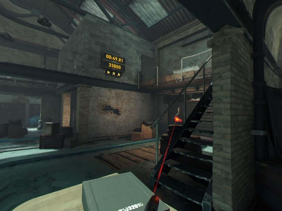 PlayStation VR WORLDSロンドンハイストスコアアタック