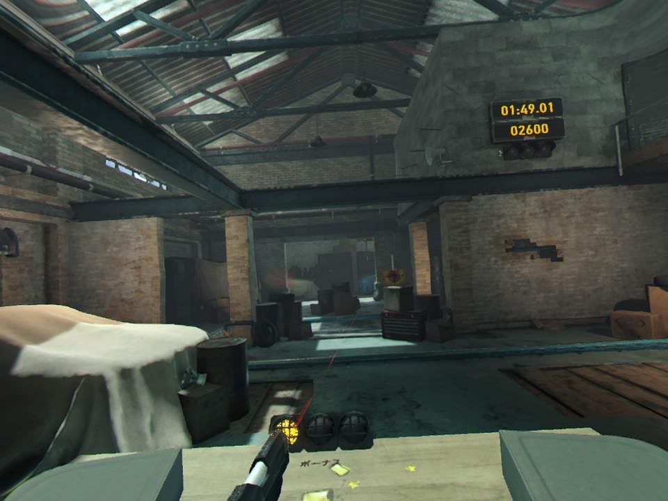PlayStation VR WORLDSロンドンハイスト左