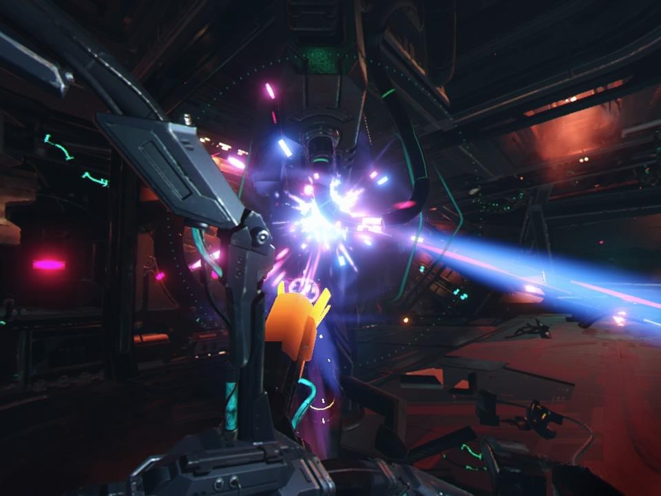 PlayStation VR WORLDSスカベンジャーオデッセイビーム