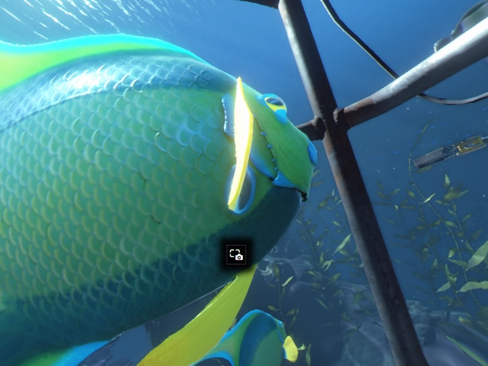 PlayStation VR WORLDSオーシャンディセント魚