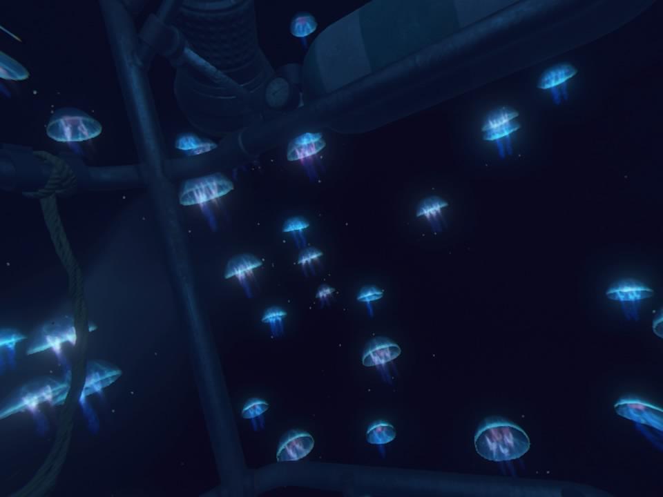 PlayStation VR WORLDSオーシャンディセントクラゲ