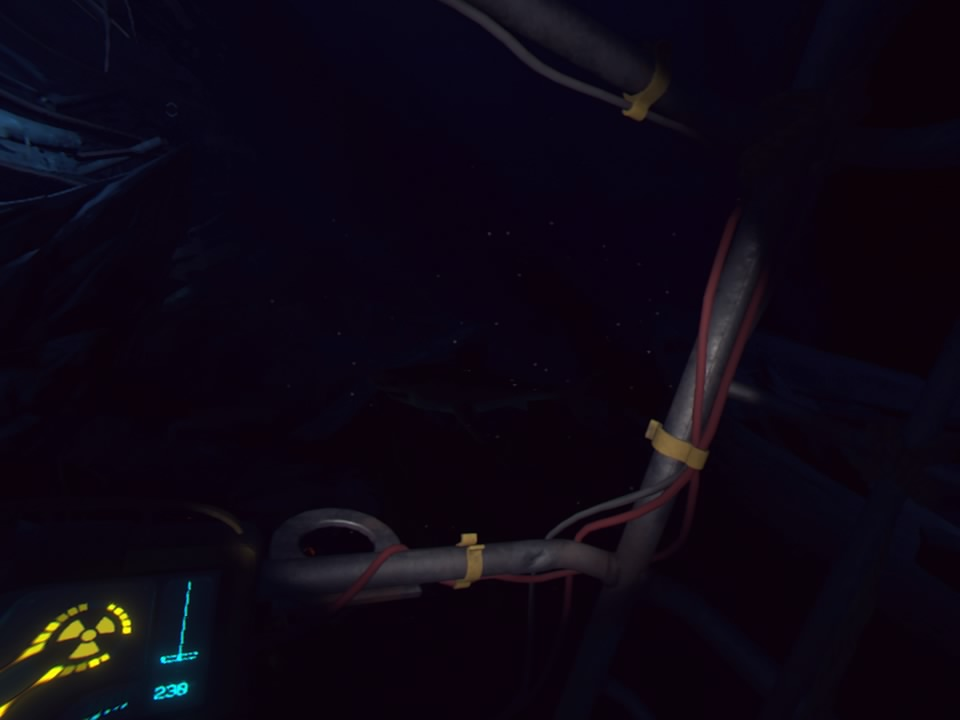 PlayStation VR WORLDSオーシャンディセントサメ
