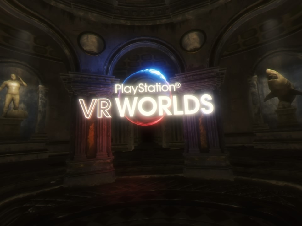 PlayStation VR WORLDSタイトル