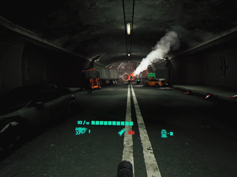 ドローンストライカートンネル2