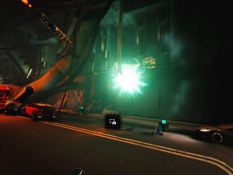 ドローンストライカートンネル3