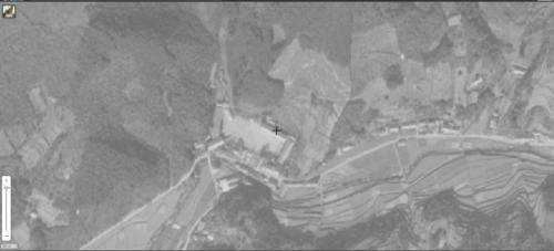 1960年代の佐礼谷小学校付近