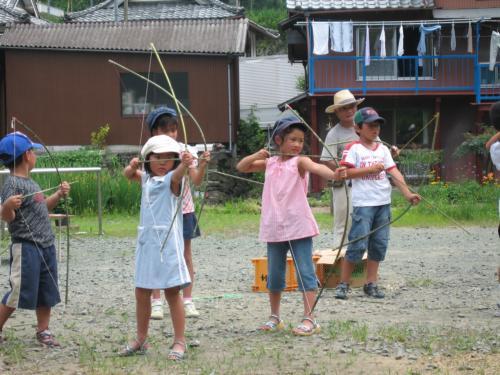 弓矢の体験