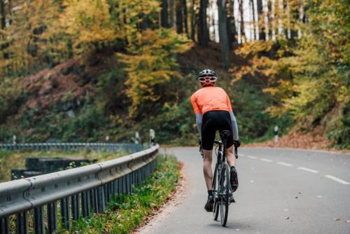 山中サイクリング