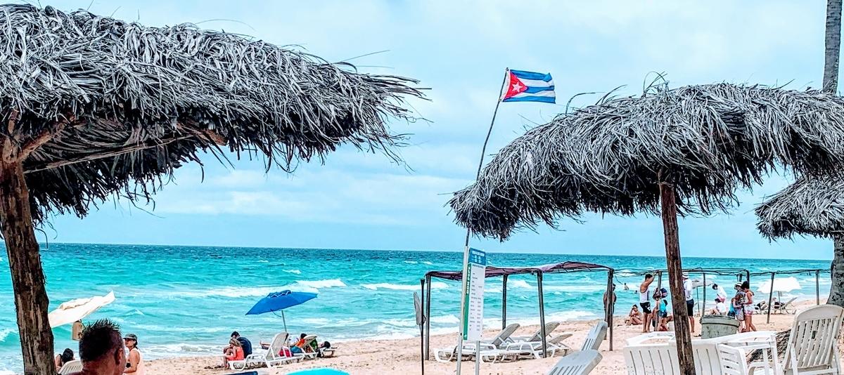 きれいなカリブ海のビーチ