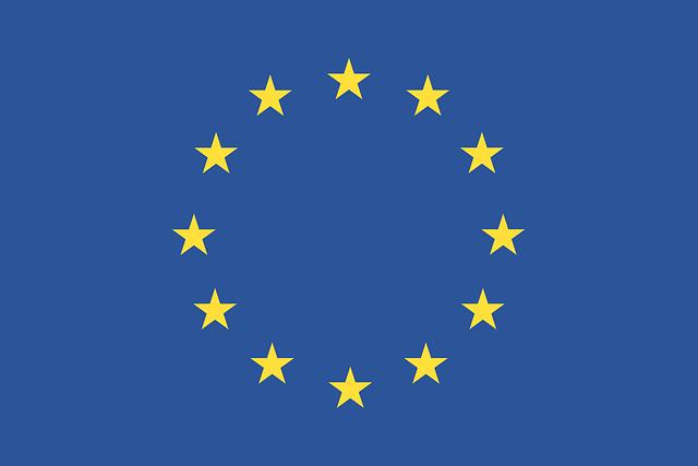 EUロゴの旗