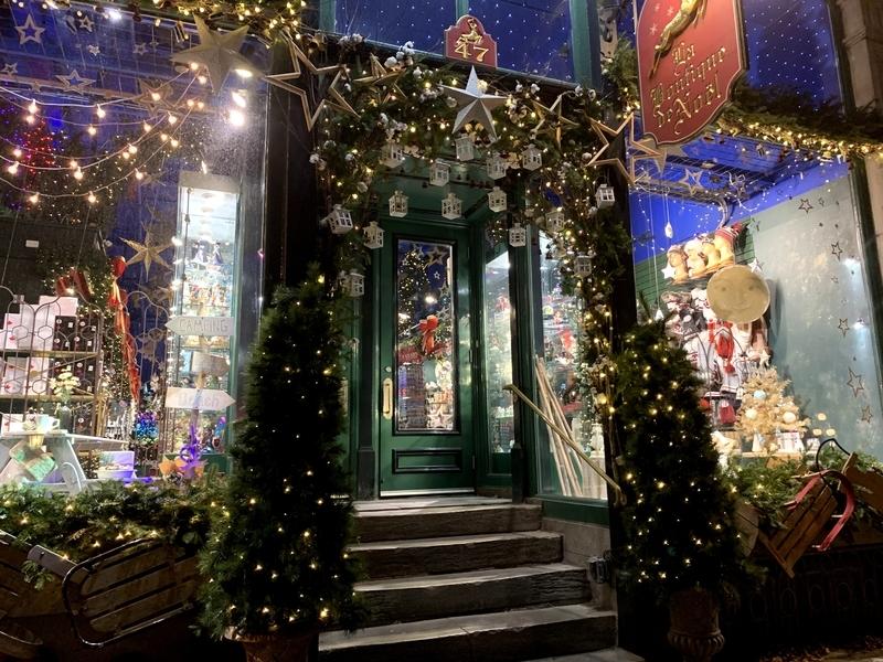 ケベック:トッケビのクリスマスショップ