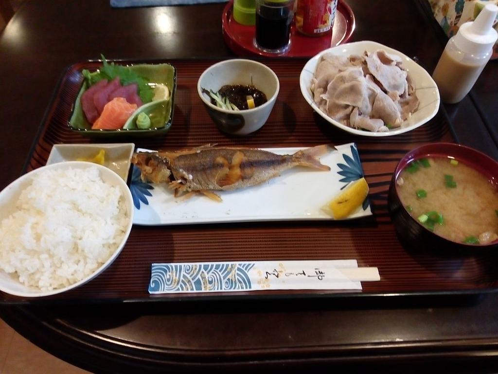 ホテル国頭 夕食