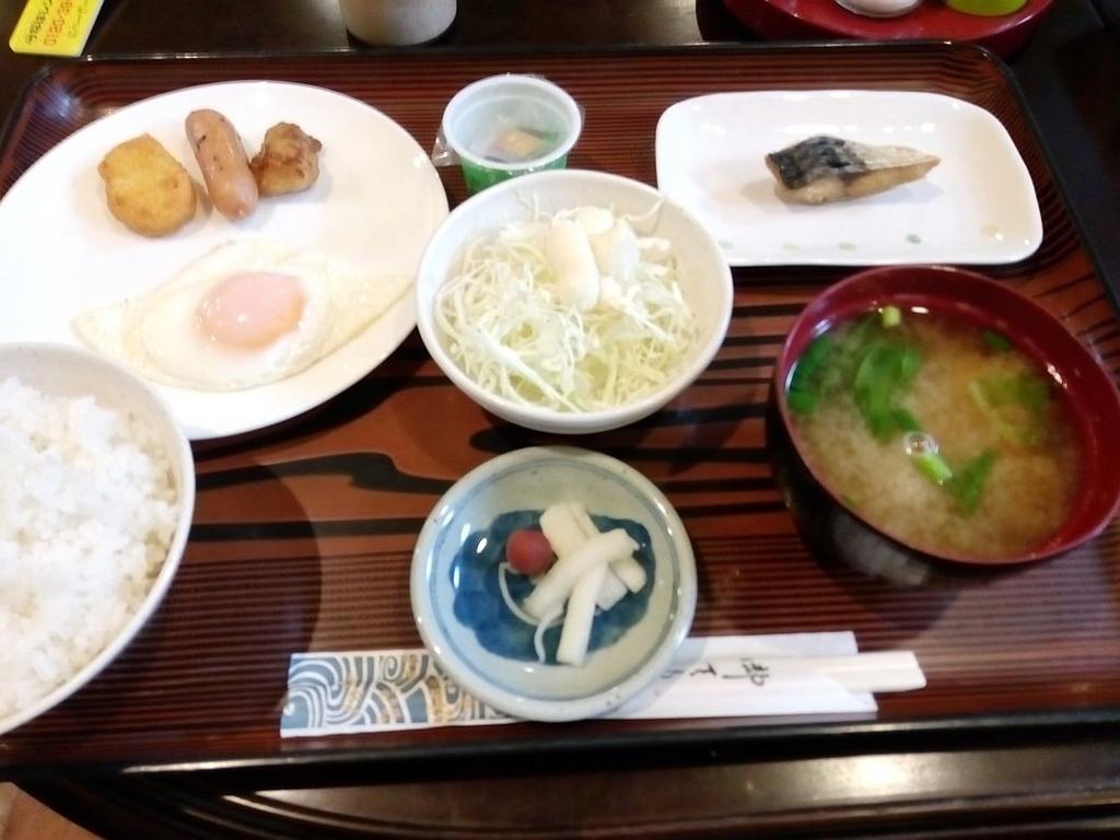 ホテル国頭 朝食
