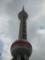 上海のテレビ塔。歴史博物館が中にあります。
