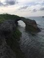 パイナガマビーチ岩場穴