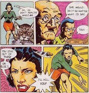 泥棒猫の対義語を考える