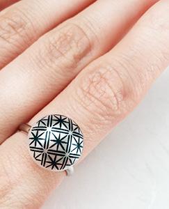 手作り和風指輪
