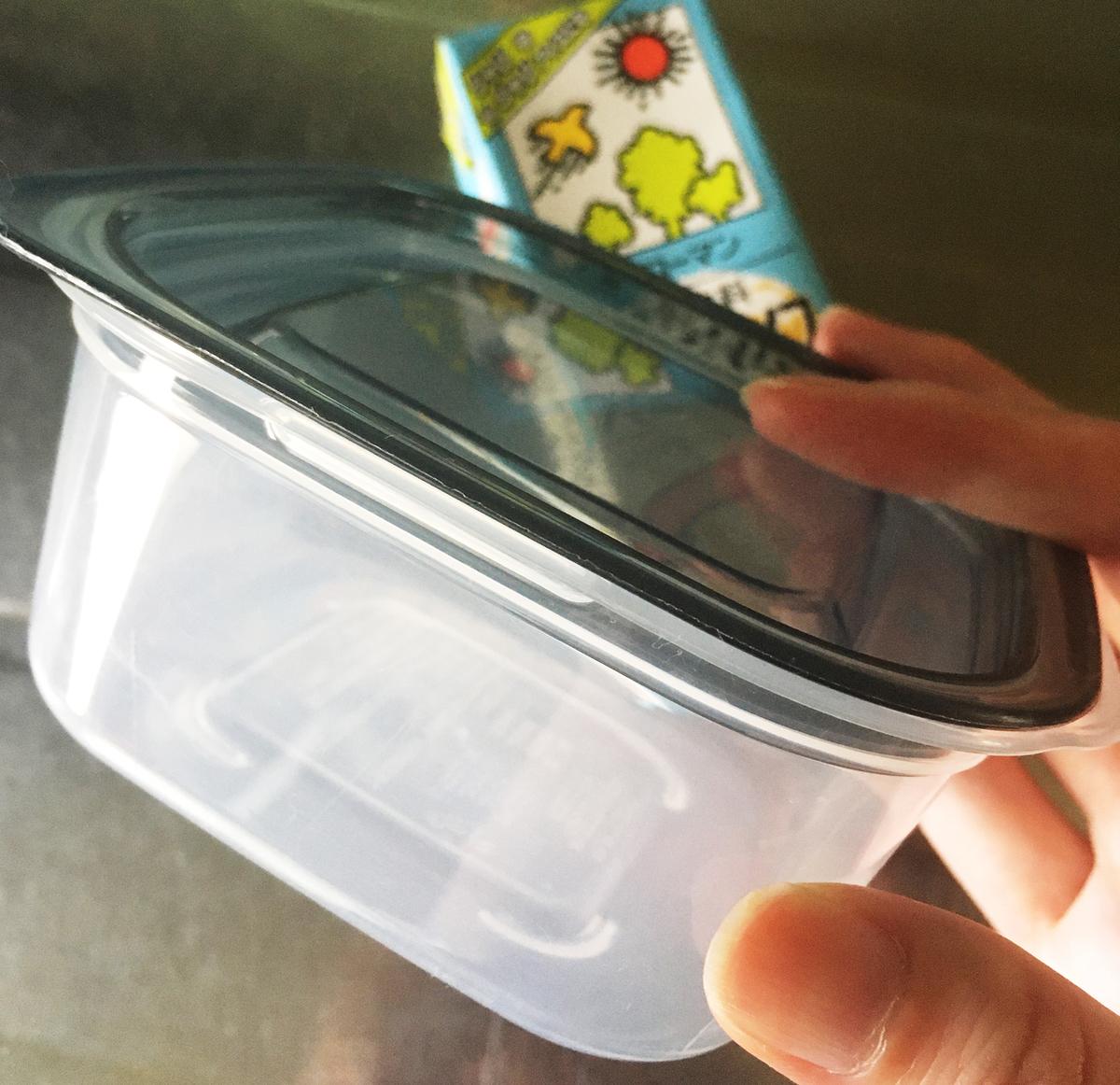セリア 洗いやすい容器